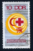 Red  cross & crescent — Stock Photo