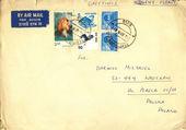 Vintage envelope — Stock Photo