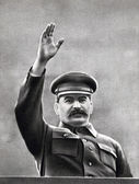Vintage photograph of Joseph stalin — Stock Photo
