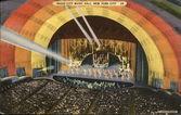 Radio City Music Hall in Rockefeller Center in 1936 — Stock Photo