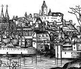Padua in mediaeval times — Stock Photo