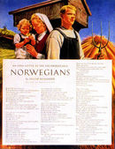 Norwegian wartime poster — Stock Photo