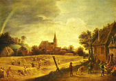Painting by David Teniers the Younger — Stock Photo