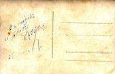 винтажные открытки с рукописные сообщения — Стоковое фото