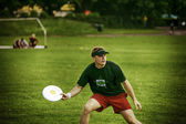 Frisbee players — Stock Photo