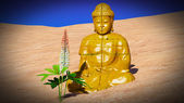 Buddha d'oro — Foto Stock