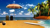 Paradise on Hawaii Island — Stock Photo