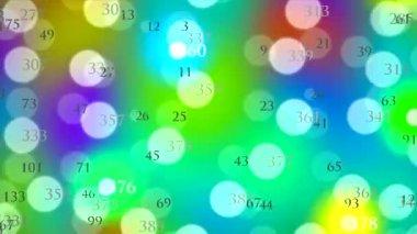 Binary data in a cloud — Stock Video