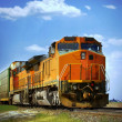 Cargo Train — Stock Photo