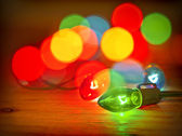 Xmas lights — Stock Photo