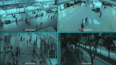 CCTV — Vídeo stock