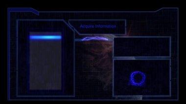 сканирование отпечатков пальцев — Стоковое видео