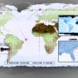 Stock Video: Satellite surveillance