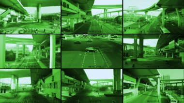 CCTV — Stock Video