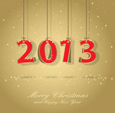 Gott nytt år kort — Stockvektor