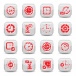 Stock Vector: Clock icons set
