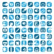 Big color medical icons — Stock Vector #22289405