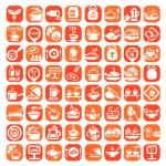 Big food icon set — Stock Vector #26830023