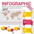 Stock Vector: Infografic set