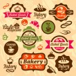 Bakery badges and label — Stock Vector #30463183