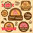 Bakery goods labels — Stock Vector #30527743