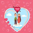 Valentine card — Stock Photo #31454889
