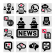 Communication vector icons — Stock Photo #32069565