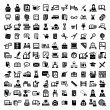 Big education vector icons set — Stock Vector #32067599