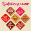 Bakery design elements — Lizenzfreies Foto