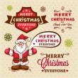 Christmas vector elements — Stock Vector