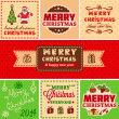 Vector vintage christmas — Stock Vector #35592875