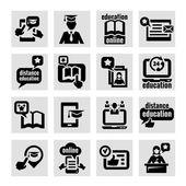 Online education — Cтоковый вектор