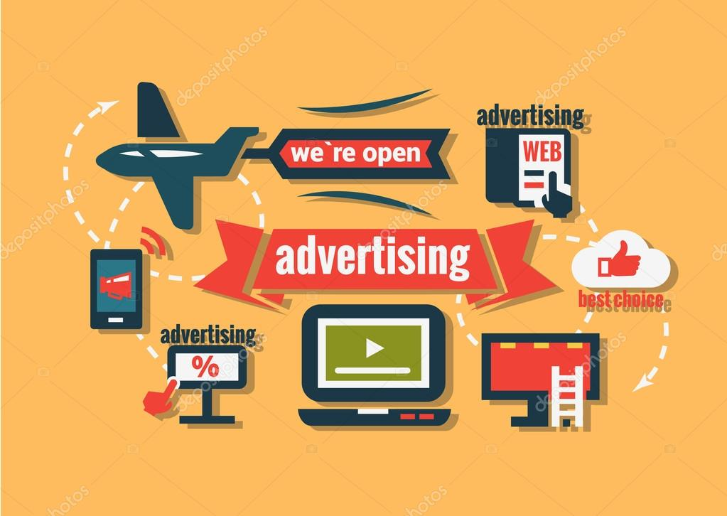Advertising Icons Png Advertising Vacation Icons Set
