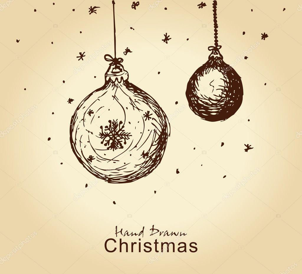 Christmas balls stock vector chistoprudnaya 7399327 for Weihnachtskugeln vintage
