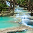 Erawan waterfall, Kanchanaburi, Thailand — Stock Photo #22697727