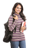Pretty young Indian girl student — Stock Photo