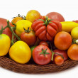 Tomatoes from farm - Stock Photo