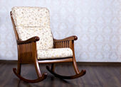 Rocking chair for the rest — Stock Photo