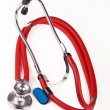 Medical stethoscope — Stock Photo