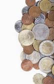 不同国家的硬币 — 图库照片