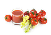 Tomaten sap — Stockfoto