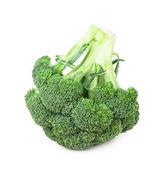 Färska, råa, gröna broccoli bitar — Stockfoto