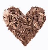 Pedaços de chocolate — Foto Stock