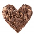 Foto de Stock  : Chocolate heart