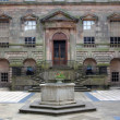 Stock Photo: Court Yard at the English Stately Home