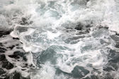 Foaming sea wave — Stock Photo