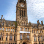 Постер, плакат: Manchester Town Hall