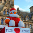 Stock Photo: Christmas time in Manchester, UK.