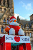 Christmas time in Manchester, UK. — Foto de Stock