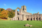 Fountains Abbey — Stock Photo